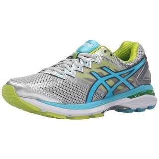 ASICS Womens GT-2000 Fabric Low Top Lace Up Running Sneaker