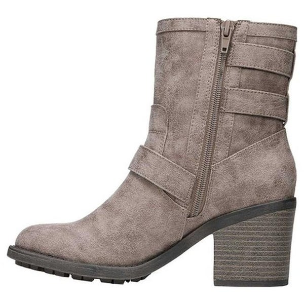 Prayer Ankle Boot Doe Oiled Fabric