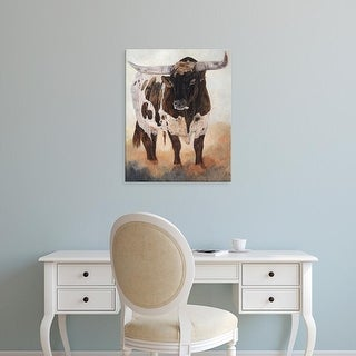 Easy Art Prints Kathy Winkler's 'Big Daddy II' Premium Canvas Art