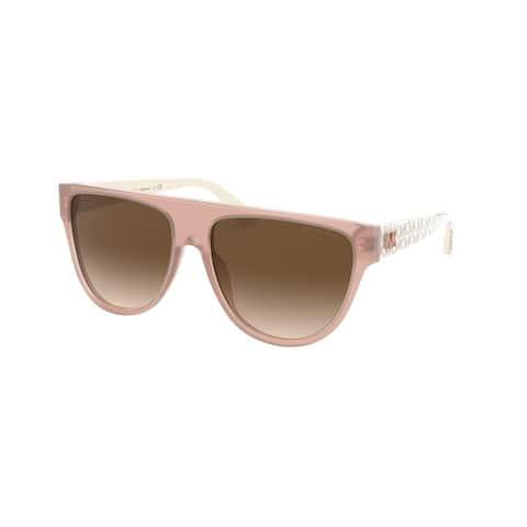 Michael Kors MK2111 318413 57 Milky Blush Woman Irregular Sunglasses