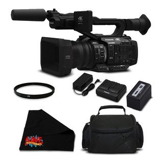 Panasonic AG-UX180 4K Premium Professional Camcorder (Intl Model) Bundle