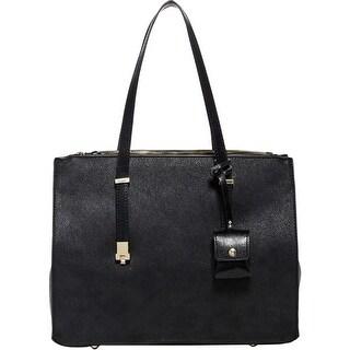 Urban Expressions Womens Aveline Satchel Handbag Vegan Leather Tote - MEDIUM