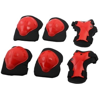 Boy Roller Skating Biking Safety Guard Protective Gear Protector Set 6 in 1