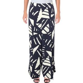 Lauren Ralph Lauren Womens Dress Pants Wide-Leg Printed - 12