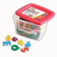 Alpha And Math Magnets Multi 214Pk