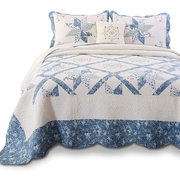 Kasentex Quilt Patchwork Cotton Oversized. Opens flyout.