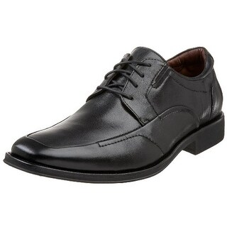 Johnston & Murphy Mens Stricklin Leather Lace-Up Oxfords