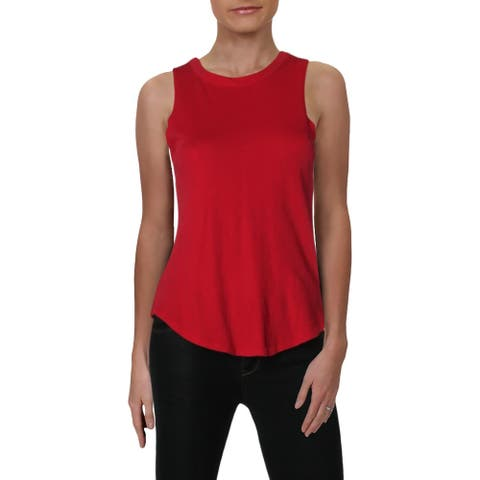 Chaser Womens Muscle Tank Cotton Lightweight