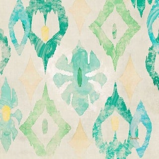 Marmont Hill Emerald Star Evelia Painting Print on Canvas