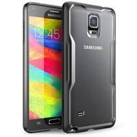 SUPCASE Galaxy Note 4 Case - Unicorn Beetle Series Premium Hybrid Bumper Case - Frost Black