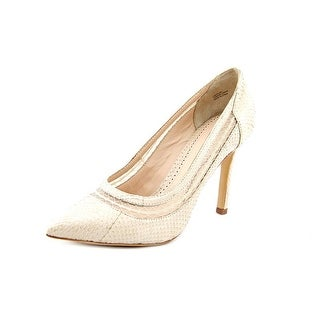 Pour La Victoire Cailyn Women  Pointed Toe Leather Nude Heels