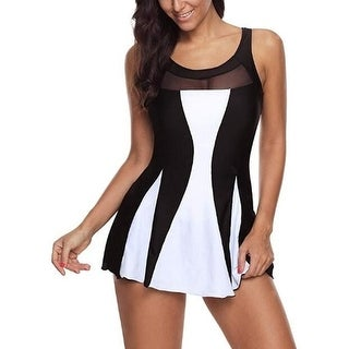 4bebc7aefa1 Shop Women One Piece Swimdress Tummy Control Swim Dress Swimwear Slimming  Skirt Swimsuits Bathing Suit Dress - On Sale - Free Shipping On Orders Over  $45 ...