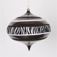 Diva Safari Zebra Print & Stripes Black And White Commercial