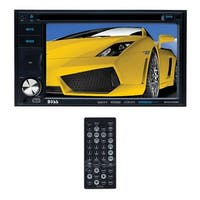 "Boss 6.2"" DDin Touchscreen Bluetooth USB/SD Remote"