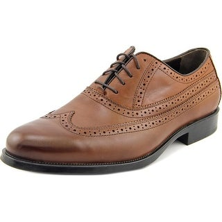 Johnston & Murphy Duvall Men  Wingtip Toe Leather Tan Oxford