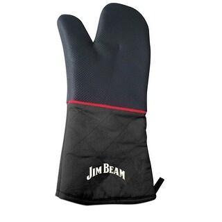 Jim Beam Heavy Duty Construction Neoprene Grilling Mitten
