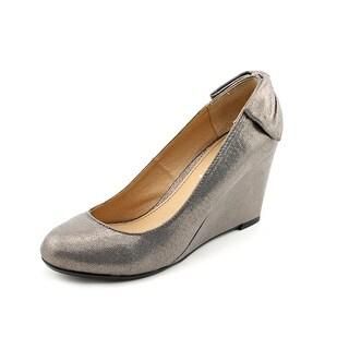 Report Locklyn Open Toe Synthetic Wedge Heel