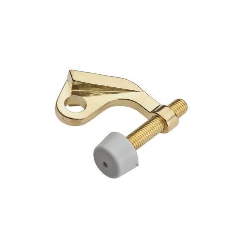Stanley 830259 Hinge Pin Door Stop, Polished Brass