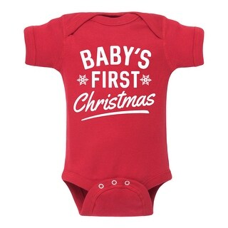 Babys First Christmas - Infant One Piece