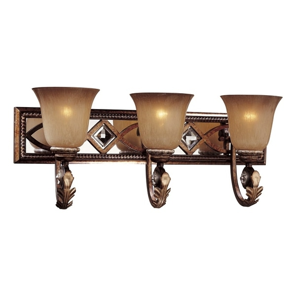 Minka Lavery ML 6743 3 Light Bathroom Vanity Light from the Aston Court Collection
