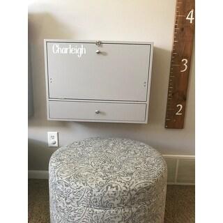 Wall Mounted Folding Laptop Desk On Sale Overstock 14646664