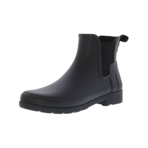 Hunter Women's Original Refined Chelsea High-Top Rubber Rain Boot