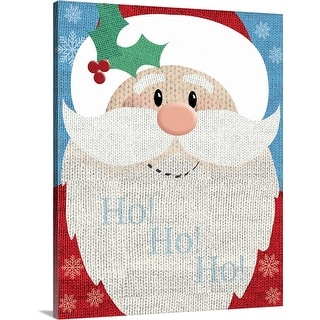 """Santa"" Canvas Wall Art"