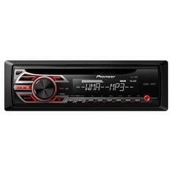 PIONEER PIODEH150MPB Pioneer DEH-150MP Single DIN Car Stereo With MP3 Playback