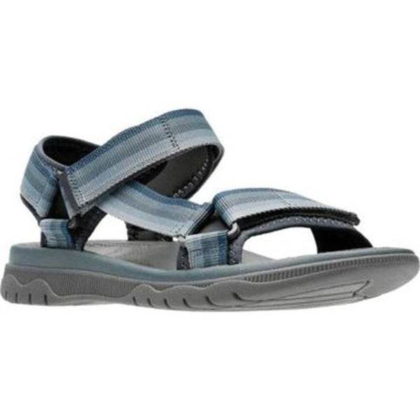 c5bbef1a596 Shop Clarks Men s Balta Reef Active Sandal Grey Synthetic - On Sale ...