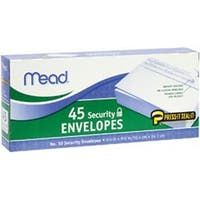 """Security #10 - Boxed Peel And Stick Envelopes 4.125""""X9.5"""" 45/Pkg"""