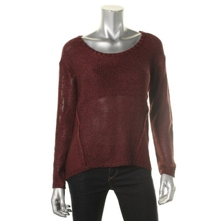 RD Style Womens Marled Hi-Low Pullover Sweater