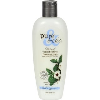 Pure and Basic - Cool Peppermint Natural Volumizing Conditioner ( 3 - 12 FZ)
