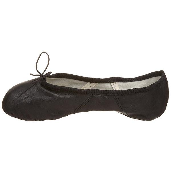 Capezio Women's Juliet Ballet Shoe,Black,8 M Us