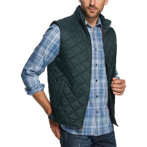 Weatherproof Vintage Mens Outerwear Vest Fall/Winter Quilted