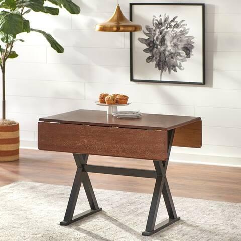 Simple Living Hadley Drop Leaf Table/Desk