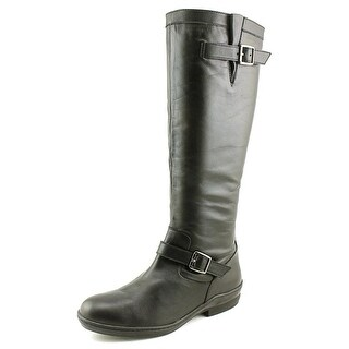 David Tate Della SS Round Toe Leather Knee High Boot