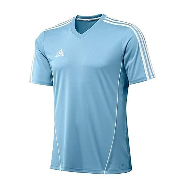 f68617fd Shop Adidas Men's Estro 12 Soccer Jersey T-Shirt Light Blue/White - Blue -  Free Shipping On Orders Over $45 - Overstock - 27286032