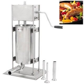 Arksen Stainless Steel, 15 Liter 33LB, Industrial Sausage Stuffer Meat Press