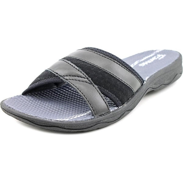 Easy Spirit Yadva Women W Open Toe Canvas Slides Sandal