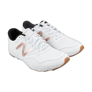 New Balance Trail Womens White Mesh Athletic Lace Up Running Shoes
