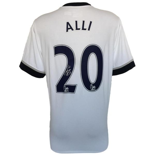 wholesale dealer c9204 43358 Shop Dele Alli Signed 2015/16 Tottenham Hotspur Home Soccer ...