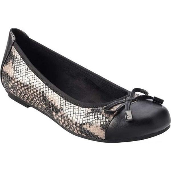 65fd77968a843 Shop Vionic Women's Minna Ballet Flat Natural Snake - Free Shipping ...