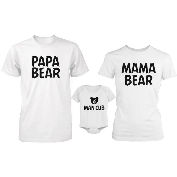 Bear Family Family Matching Shirts and Bodysuit