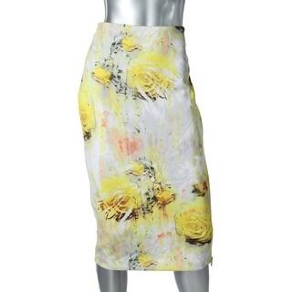 Kiind Of Womens Thiea Scuba Printed Pencil Skirt - M