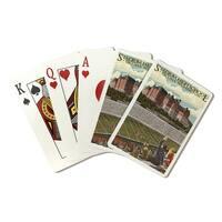 Tacoma, WA - Stadium High School - LP Artwork (Poker Playing Cards Deck)