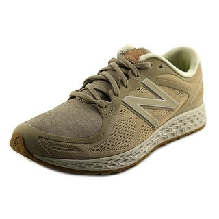 New Balance Zante Men Round Toe Canvas Tan Sneakers