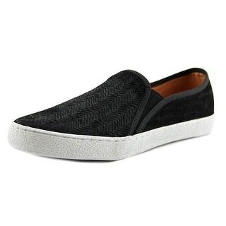 Corso Como Duffy Women Round Toe Leather Black Loafer