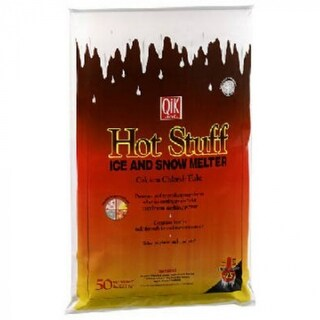 Hot Stuff 01050 Ice & Snow Melter, Calcium Chloride Flakes, 50 Lb
