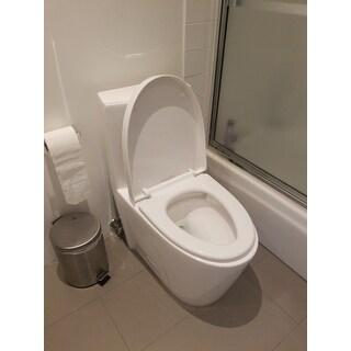 Shop Swiss Madison St Tropez One Piece Elongated Toilet
