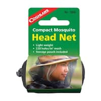 Coghlans 1882 Mosquito Head Net, Polyester, Black